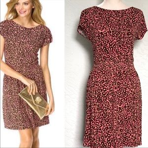 Lilly Pulitzer Sadie Leopard Knit Dress Small